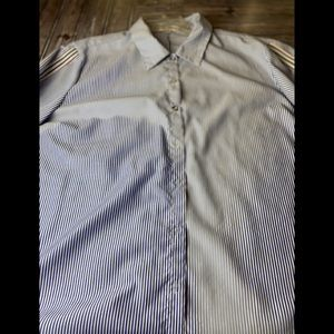 Roommates over sized women's button down shirt